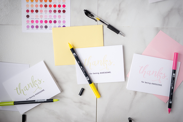 how to write the perfect thank you card - a no fail template