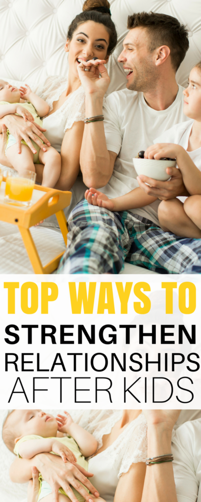 kids change your relationship - i love these tips for strengthening your marriage after babies