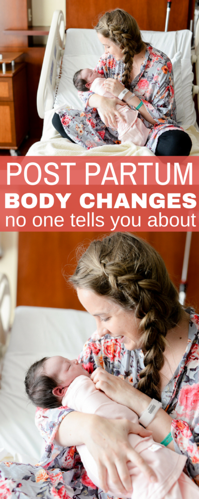 the post partum body changes no one told me about (besides hair loss, I hadn't heard of these)