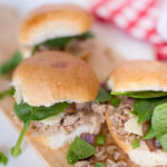30 Minute Easy Garlic and Herb Pulled Pork Sliders