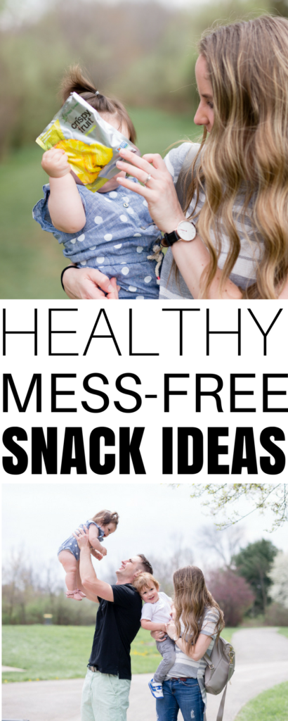 looking for a mess-free snack for babies and toddlers when you're on the go? these are healthy, quick, and easy to take with you to the park or on the road
