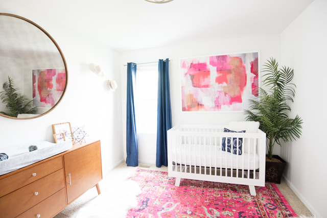 Girl 39 S Midcentury Modern Nursery With Product Links
