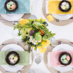 Easy and Happy Easter Tablescape Tips