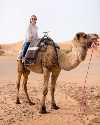 A Night in the Sahara: Morocco Camel Trek