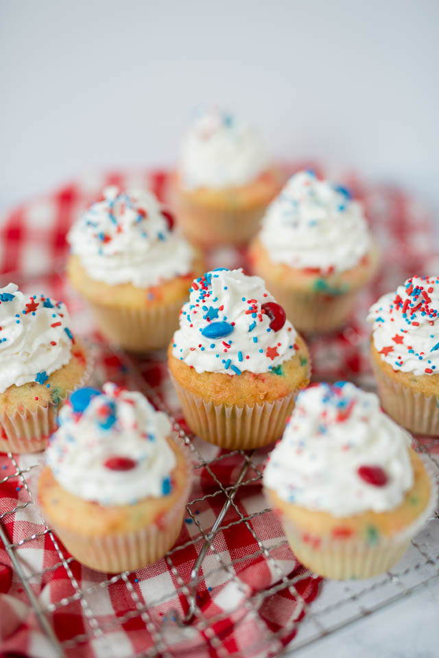 4th Of July Cupcakes Recipe Recipes Elisabeth Mcknight