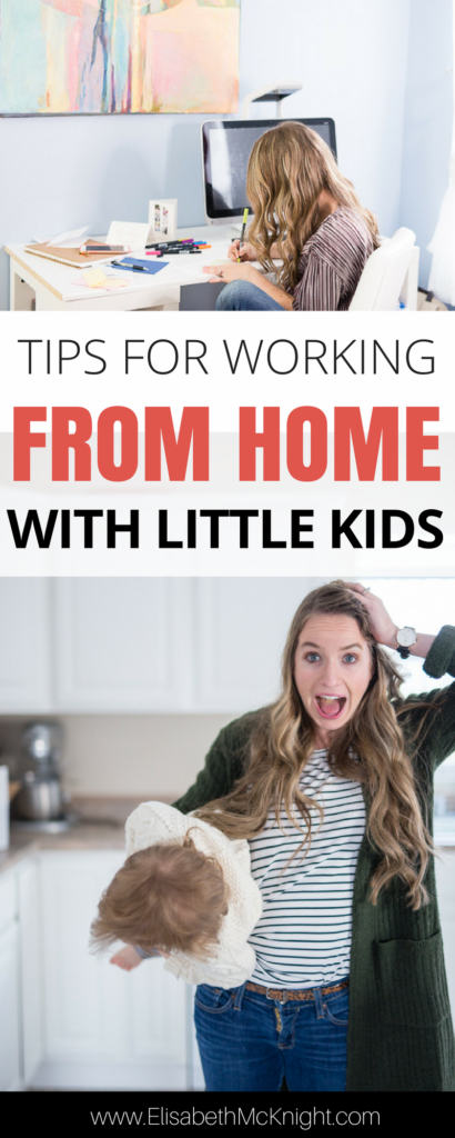 love these tips, ideas, and schedules to help you get more done while you work from home when you have little kids around