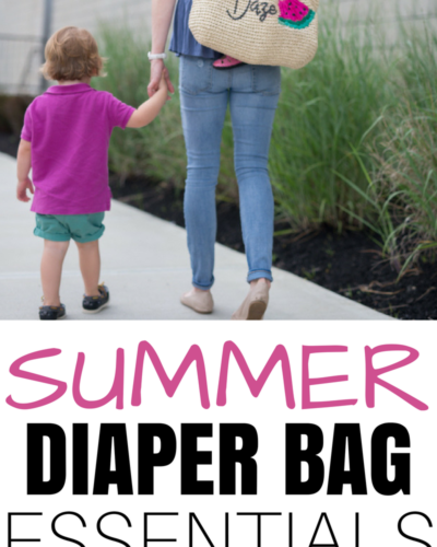 Summer Diaper Bag Checklist with 2