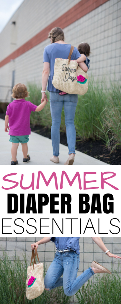 wondering how to organize your diaper bag for two? check out this checklist: these summer diaper bag essentials are everything you need to leave the house with a baby and a toddler and stay organized
