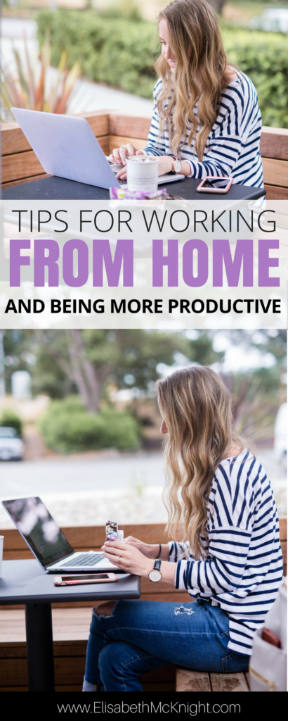love these tips and schedules to help you get more done while you work from home (especially with kids)