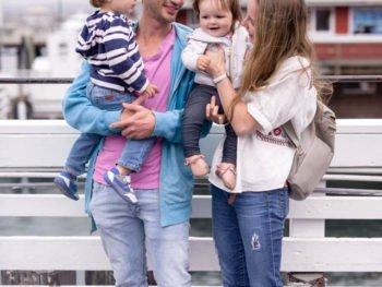 Fisherman's Wharf, Monterey with the kids