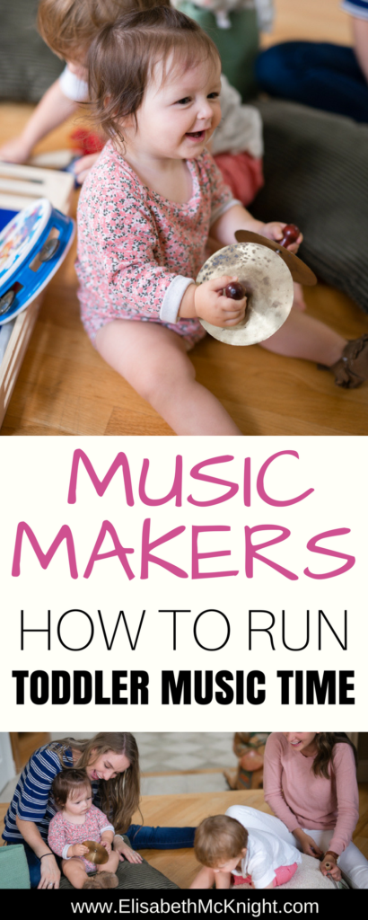 simple ideas for running a toddler music time for preschoolers from your home!