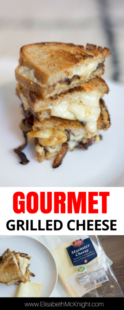 looking for the ultimate comfort food? this gourmet grilled cheese recipe is perfect for cold winter evenings and pairs great with fall soup!