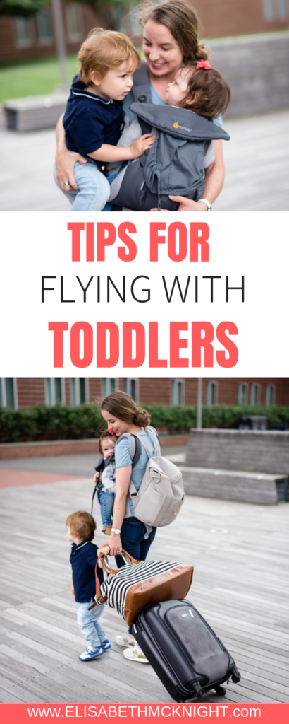 After many hours of flying with two toddlers, I have compiled my tips for a smooth trip with kids. #travelwithkids #toddlertravel #toddlerairplanetips