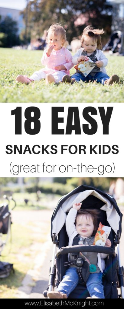 love this list of easy healthy snacks for kids that can be served in 30 seconds, perfect for toddlers on the go while traveling!