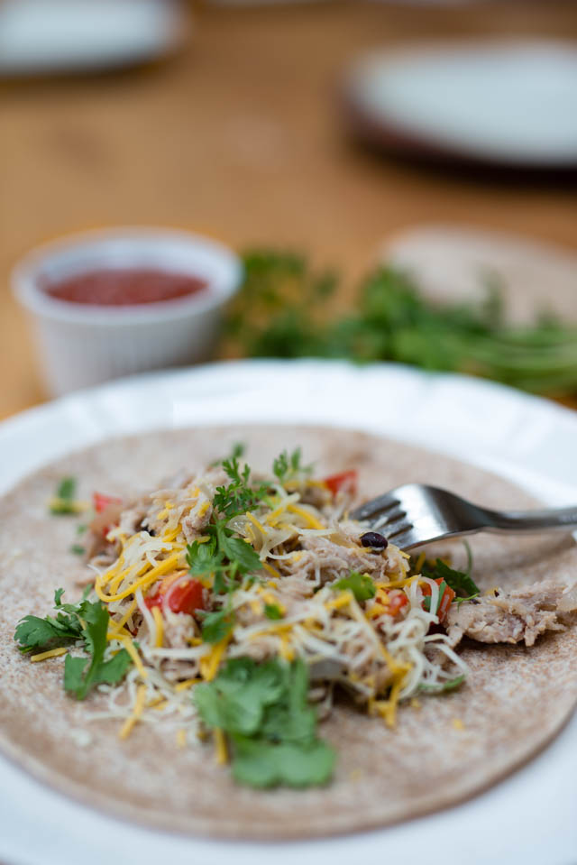 Easy 30 Minute Pulled Pork Tacos by Boston blogger Elisabeth McKnight
