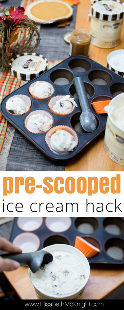 hosting an ice cream party? don't miss this easy ice cream hack for scooping and serving ice cream to large groups! Easy Ice Cream Entertaining Hack and Best Pie and Ice Cream Pairings by Boston lifestyle blogger Elisabeth McKnight