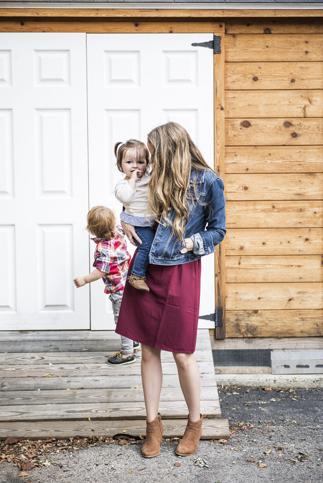 Perfect Fall Outfit + a Happy List by Boston style blogger Elisabeth McKnight