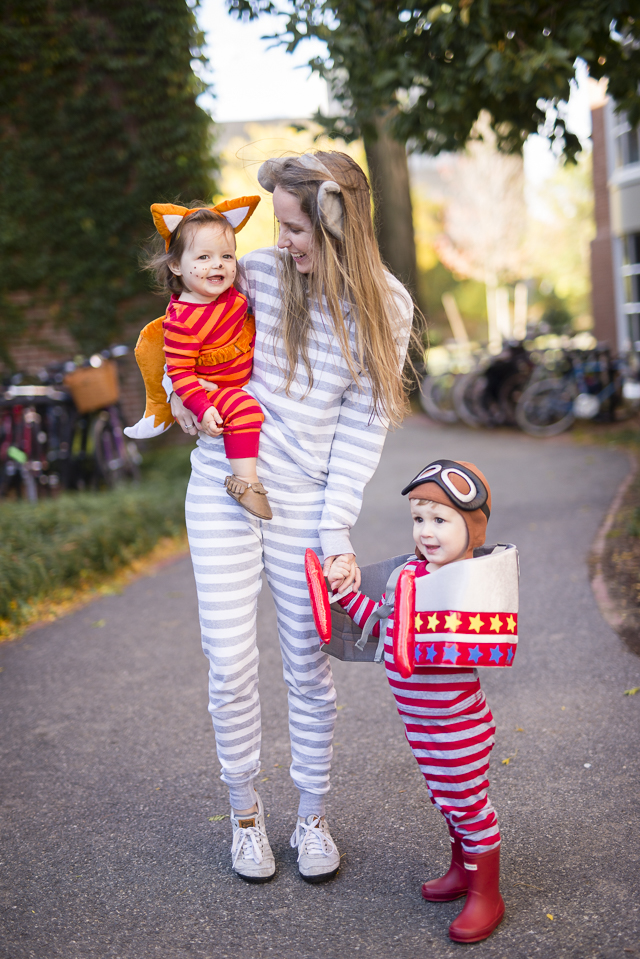 cozy pajamas for halloween by boston lifestyle blogger elisabeth mcknight