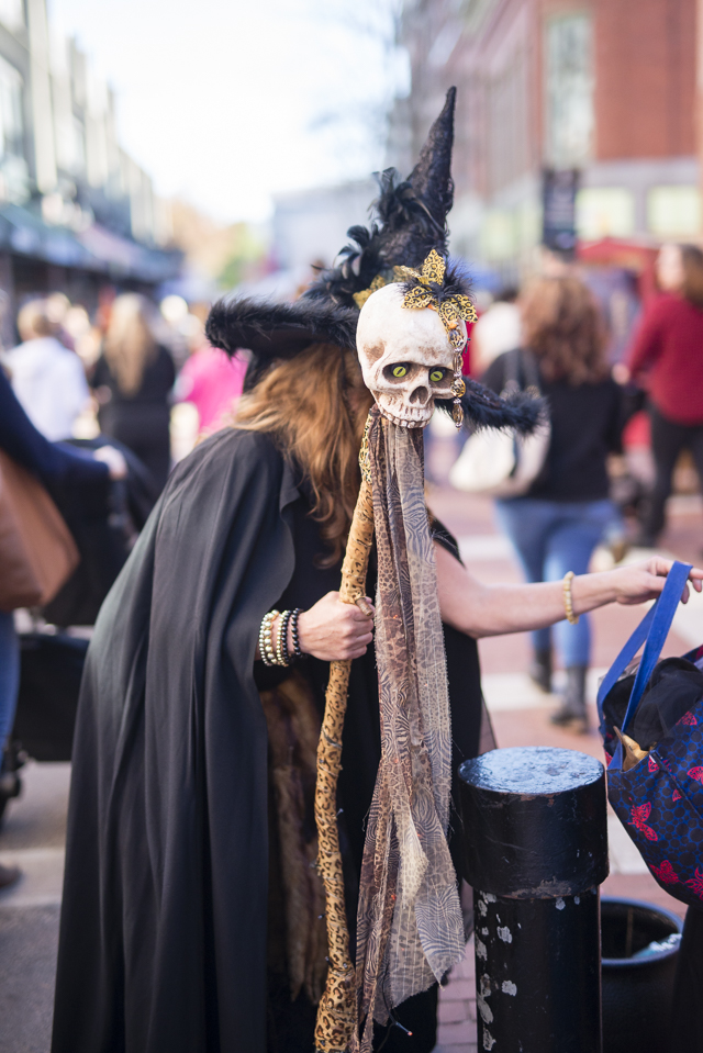 Salem on Halloween Weekend by Boston travel blogger Elisabeth McKnight