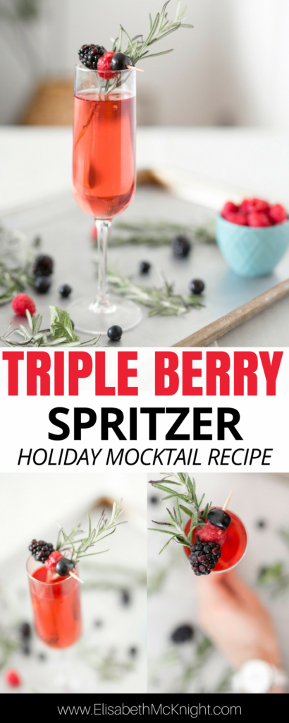 Creating a festive evening for two does not have to be difficult! A little Sprite® and a few other ingredients and voilà, you have the perfect Triple Berry and Rosemary Spritzer! Check it out here.
