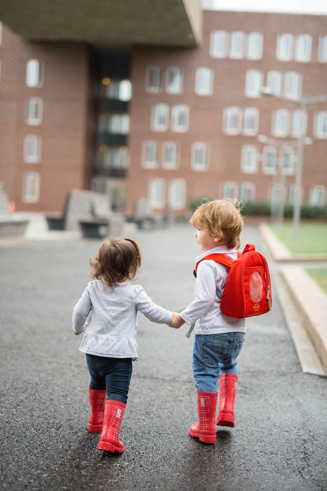Encouraging Sibling Relationships  by popular Boston mommy blogger Elisabeth McKnight