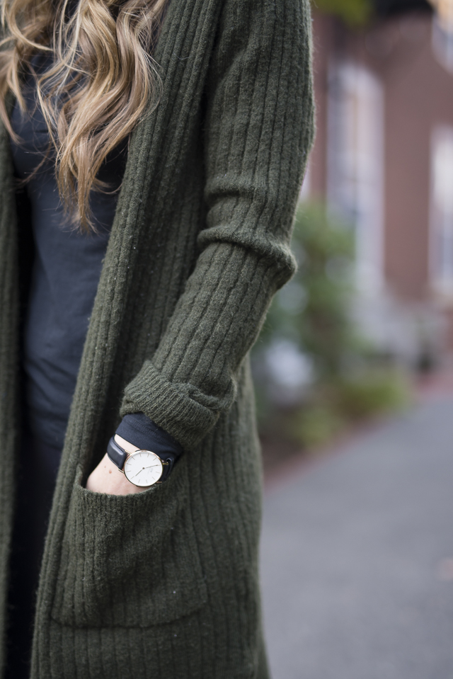 From City to Couch: Black Turtleneck Two Ways by Boston style blogger Elisabeth McKnight