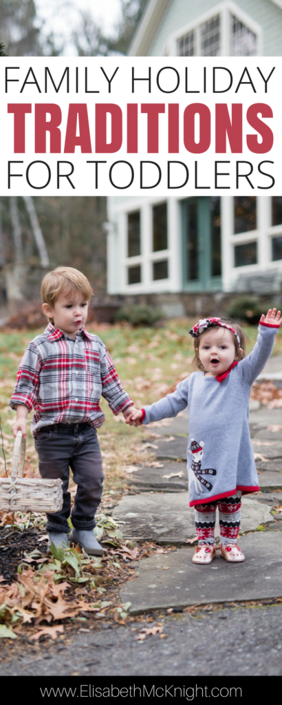 Our family's favorite Christmas traditions that are all perfect for toddlers.