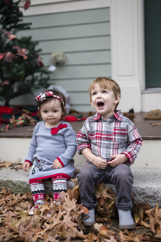 Holidays With 2 Toddlers: Current Family Holiday Traditions by popular Boston mom blogger Elisabeth McKnight
