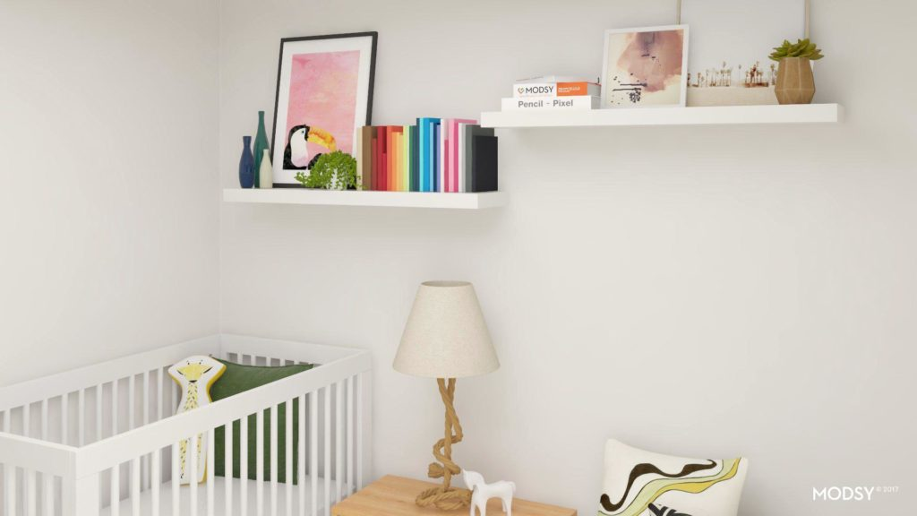 Tropical Nursery Reveal by Boston style blogger Elisabeth McKnight