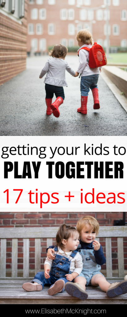 how to respond to sibling toddlers competing with each other