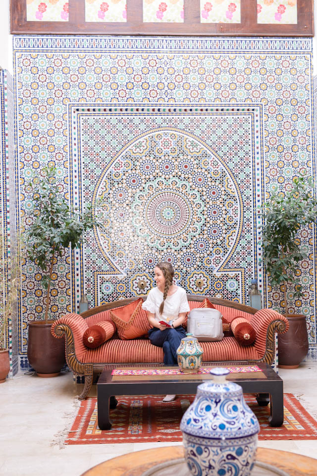 Things to Do in Morocco: Our First Night by popular Boston lifestyle blogger Elisabeth McKnight