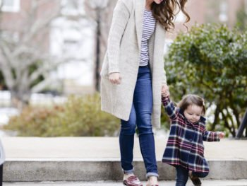 Chunky Cardigans + Stripes // Motherhood Highs and lows