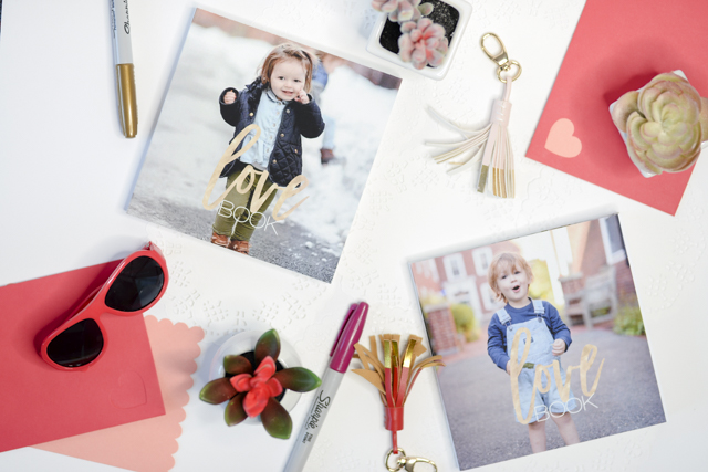 DIY Kids Personalized Love Book for Valentines Day by popular Boston lifestyle blogger Elisabeth McKnight