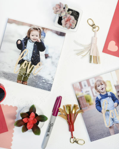 DIY Kids Personalized Love Book for Valentines Day