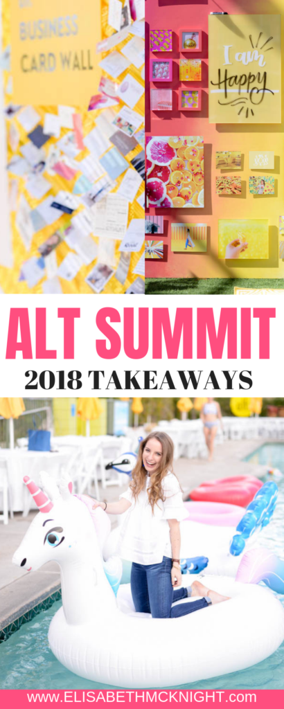 Business + Blog Takeaways from my week at the 2018 Alt Summit in Palm Springs. #altsummit #altsummit2018 #momblogger