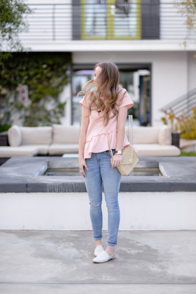 T Shirt and Jeans, upgraded by popular Boston style blogger Elisabeth McKnight