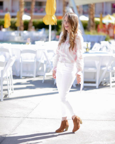 What I Wore to Alt Summit: The Best White Denim