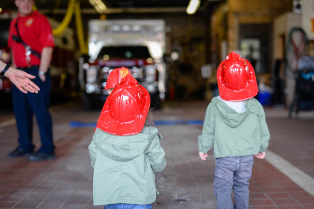 Cambridge Fire Station Visit