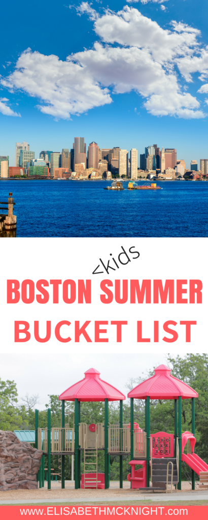 looking for fun things to do in boston with kids? check out this kids boston summer bucket list