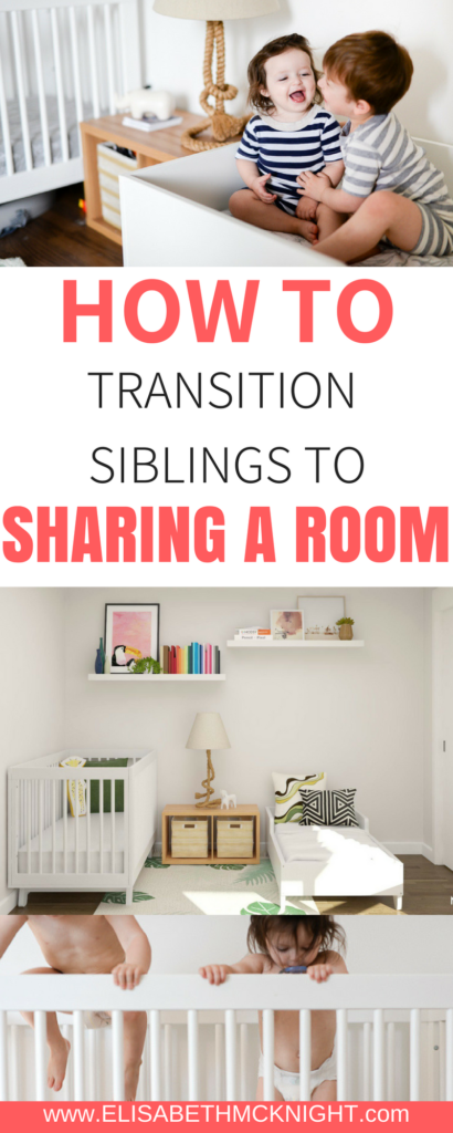 want to transition your kids into the same room? check out these tips for siblings sharing a room!