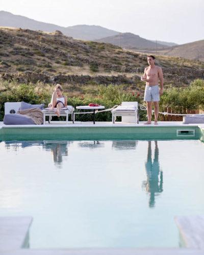 Where we stayed in Mykonos