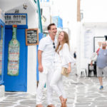White on White in Mykonos