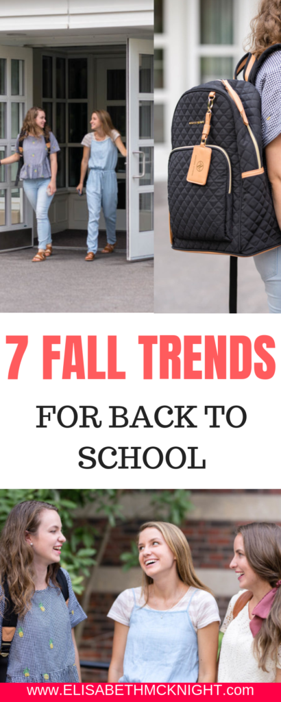 Here are 7 Fall Trends to be on the lookout for! I am loving these practical fashion tips for cooler weather.