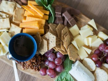 Put Together The Perfect Cheese Board with Nuts and Honey