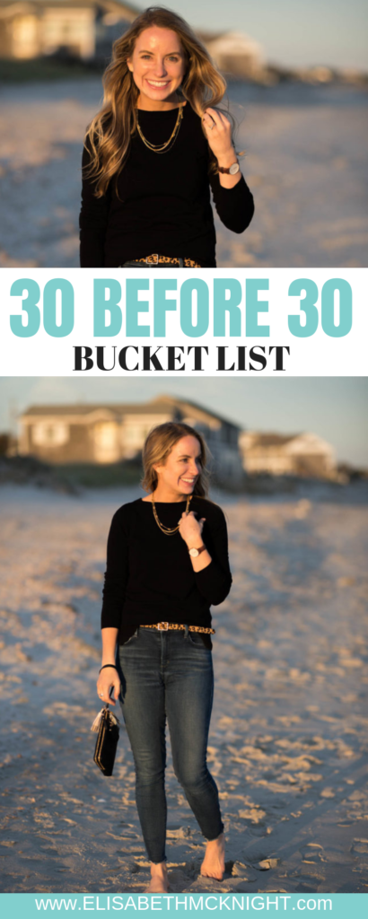 Sharing my 30 before 30 bucket list! #30before30 #30before30bucketlist #bucketlistideas #30thbirthday