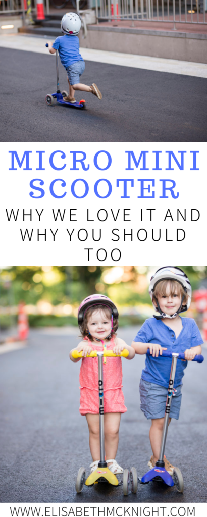Talking about the Micro Mini Scooter and why we love it! This toddler toy is great for boys and girls. It will not only provide great physical activity but also improve skills such as balance and coordination. #toddlertoys #toddleractivities #toddlerboy #toddlergirl