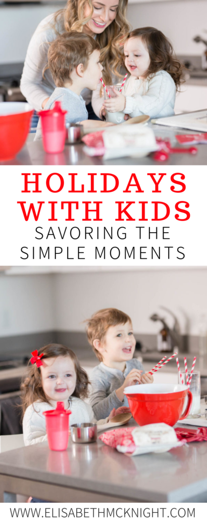 Simple, cozy moments with my kids are my favorite of the holiday season. Sometimes it really is the little things that make up the best memories. #holidaytraditions #holidayswithkids #simplemoments