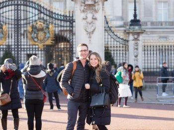 A quick trip to London at the holidays