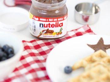 Christmas Morning Breakfast with Nutella® Hazelnut Spread