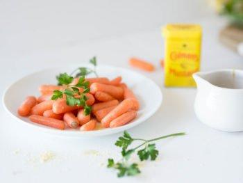 Mustard Glazed Baby Carrots